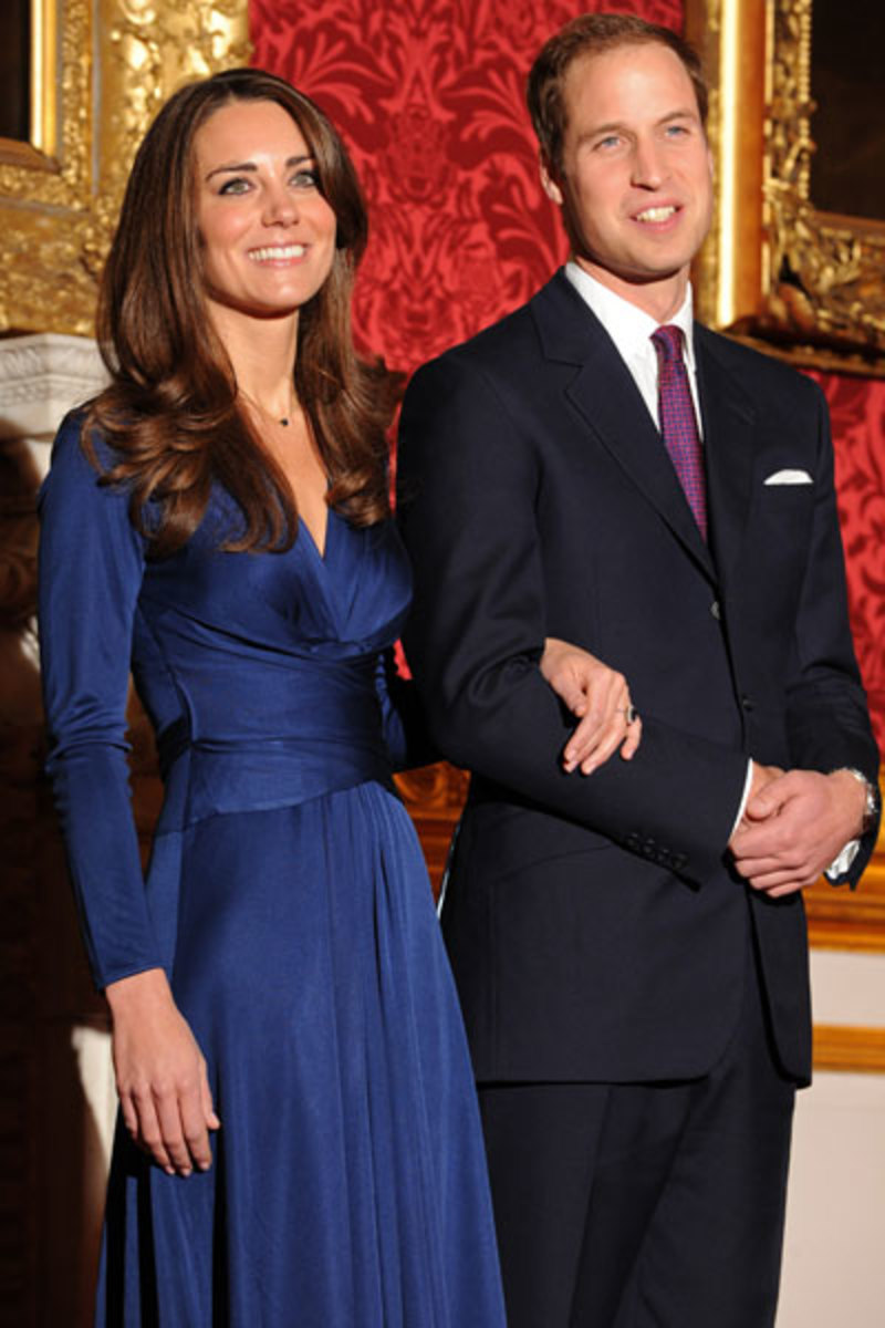 Kate Middelton, Prince William :: BEN STANSALL/Getty Images