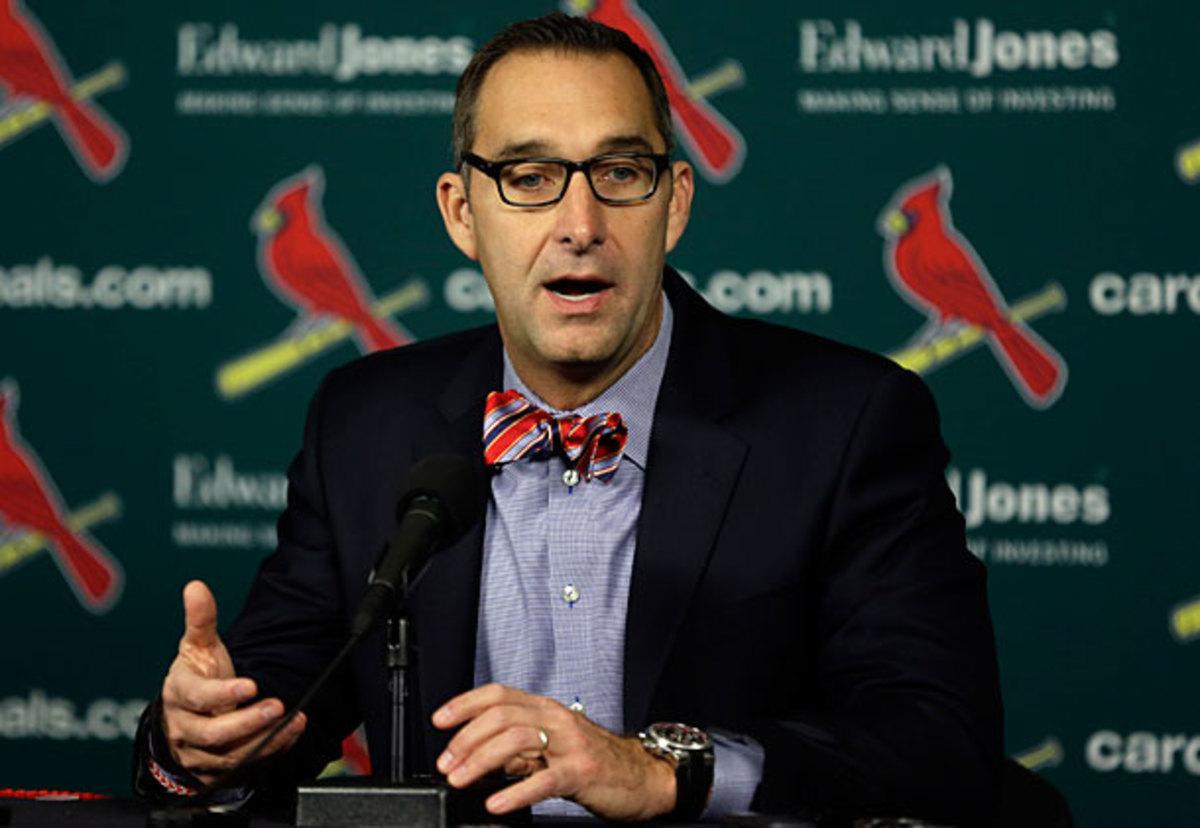 John Mozeliak, Cardinals