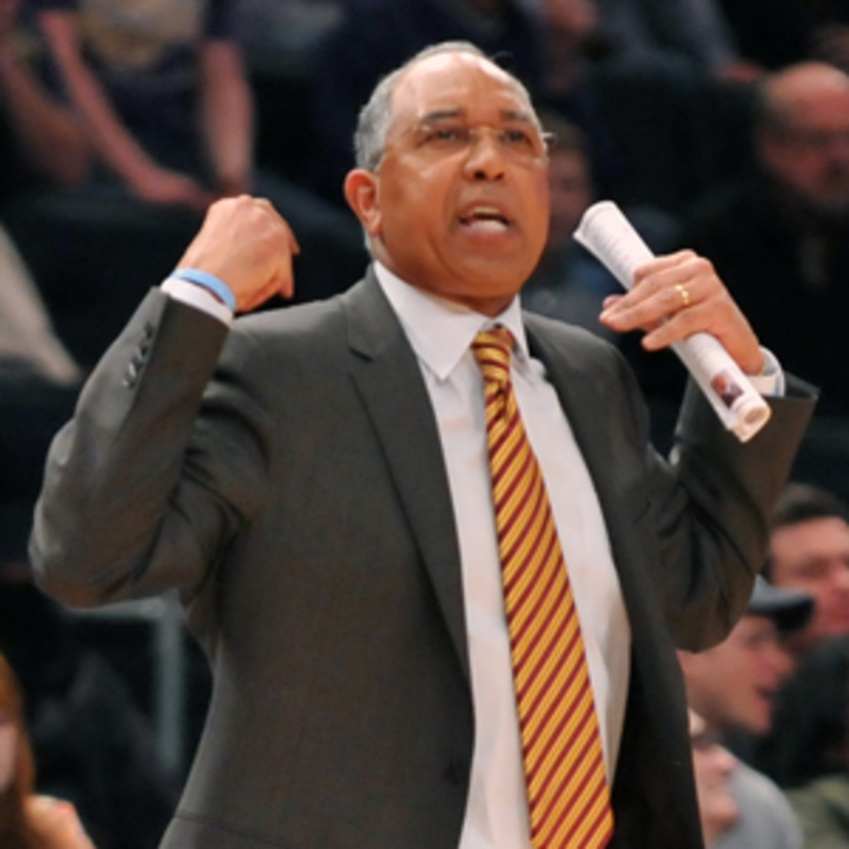 Minnesota fired Tubby Smith after he coach the Golden Gophers to a 21-13 season and two wins in the NCAA tournament. (Jason Szenes/Getty Images)