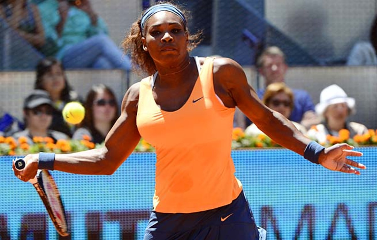 Top-ranked Serena Williams won her 50th career WTA tournament title.