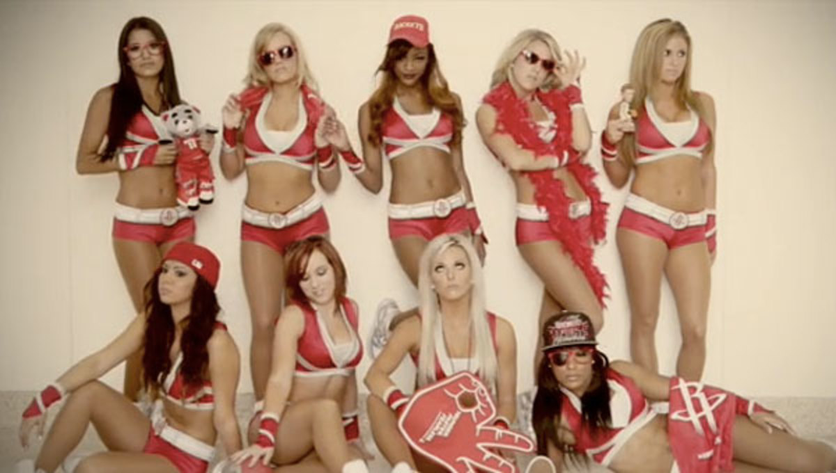 Rockets Power Dancers