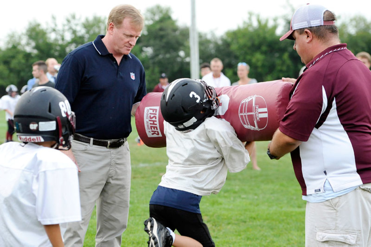 The Heads Up Football campaign aims to teach the proper mechanics of playing football in order to minimize head injuries.