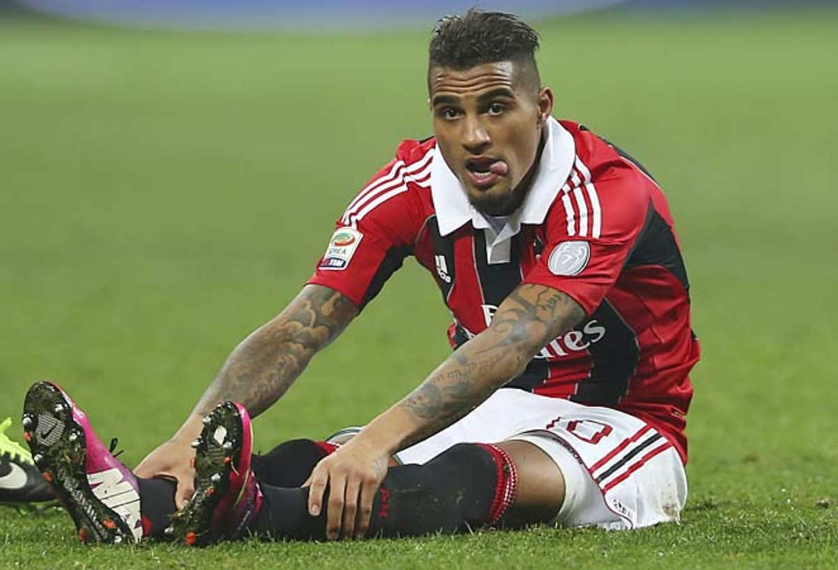 Kevin-Prince Boateng has two goals and three assists in 19 Serie A starts this season.