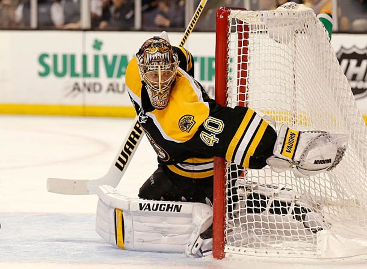 Tuukka Rask of the Boston Bruins