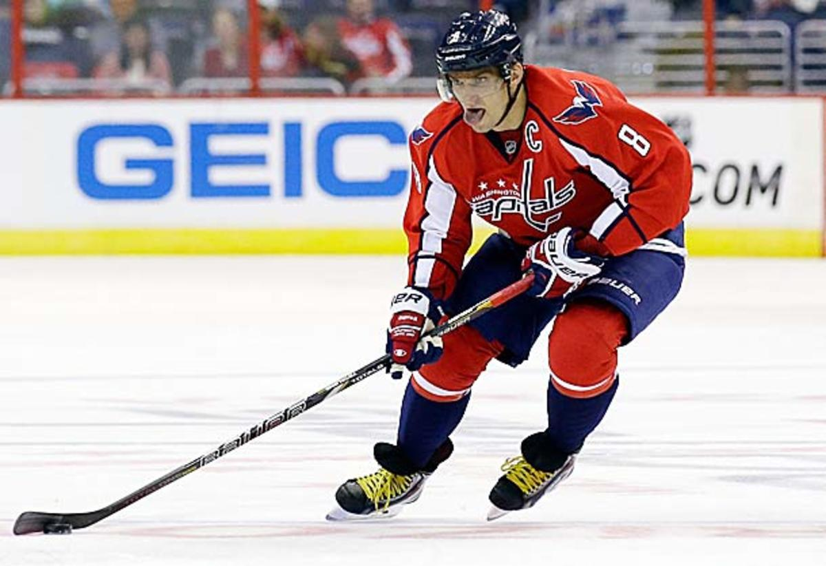 Alex Ovechkin of the Washington Capitals