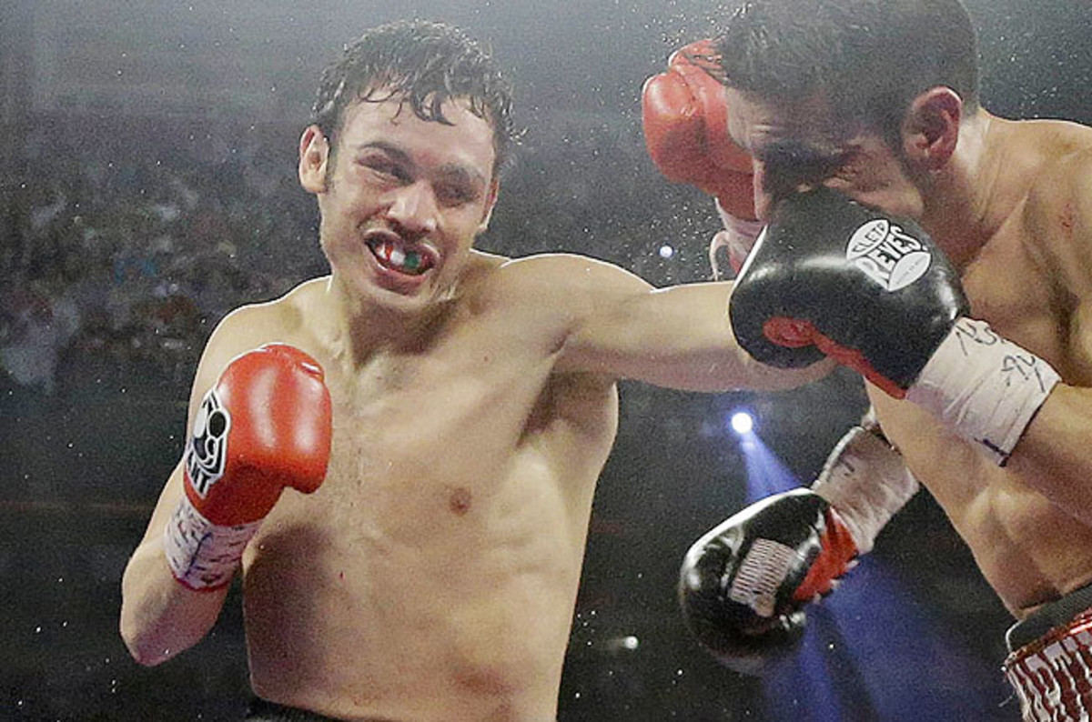 Chavez tested positive for marijuana after his first professional loss in Las Vegas on Sept. 15.