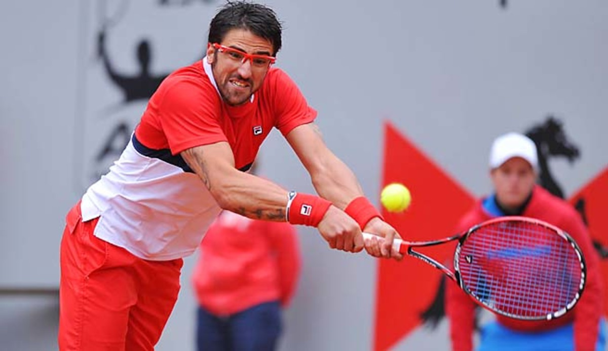 No. 10 Janko Tipsarevic hasn't made it past the quarterfinals of an event since his season-opening win.
