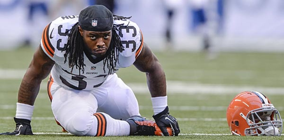 Trent Richardson was traded to the Colts on Wednesday.