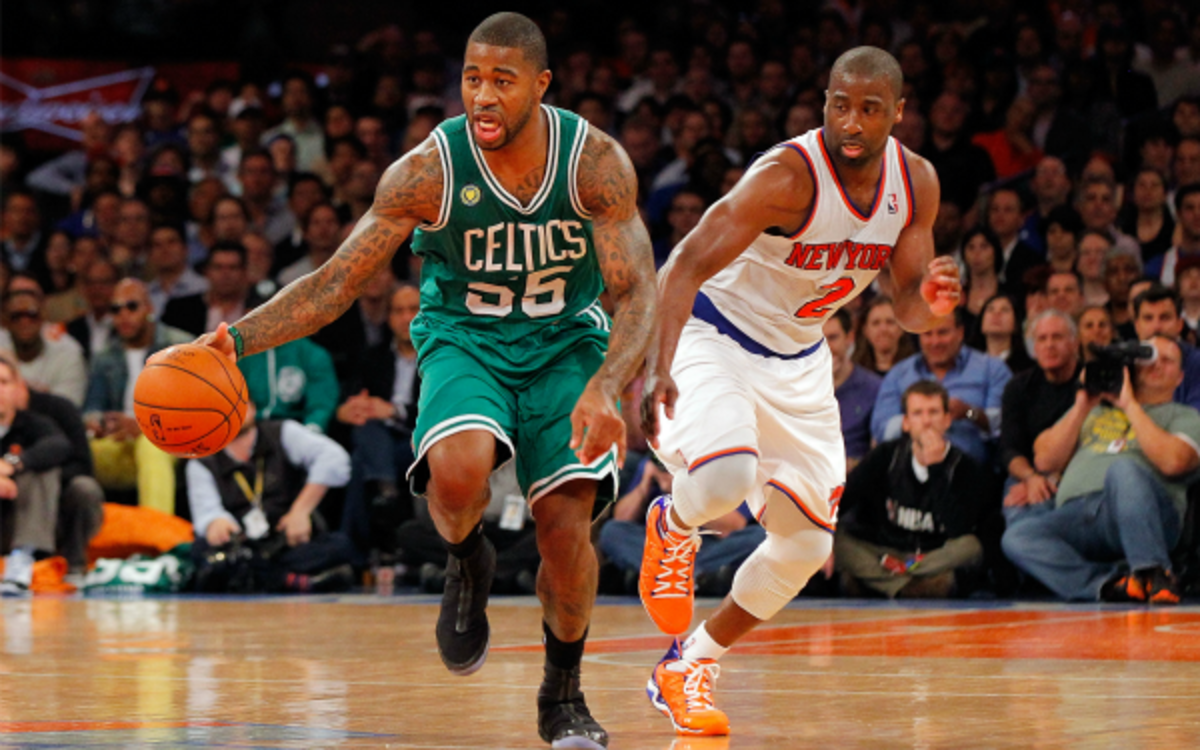 Celtics guard Terrence Williams admitted feeling frustrated with the media's negative portrayal of him. Jim McIsaac/Getty Images)
