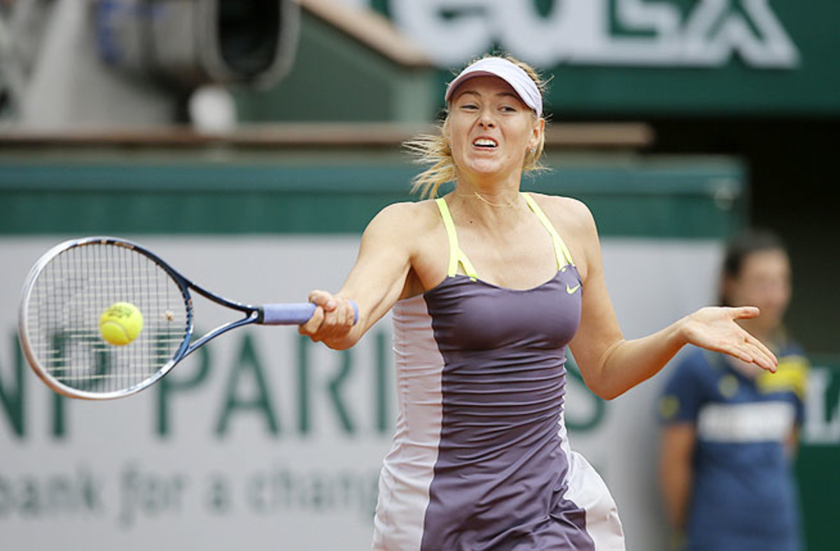Maria Sharapova completed a career Grand Slam by winning the French Open last year.