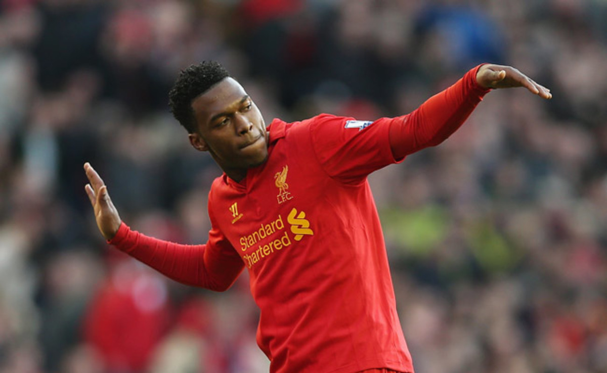 Daniel Sturridge scored Liverpool's fifth goal of the match, a penalty kick in the 71st minute.