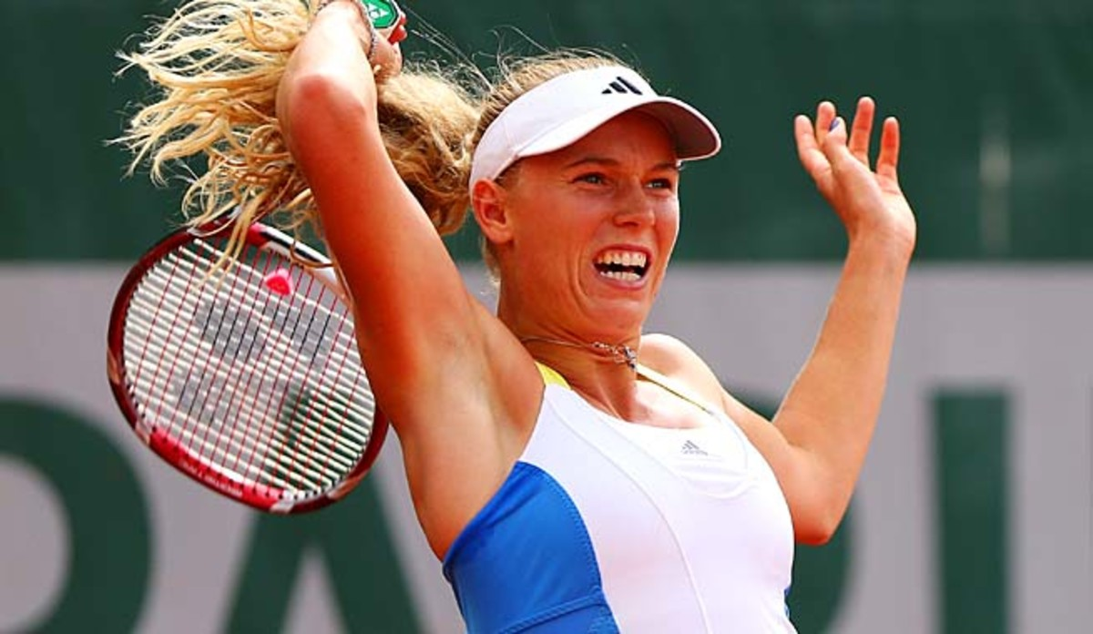 Caroline Wozniacki has made it past the third round of the French Open just once.