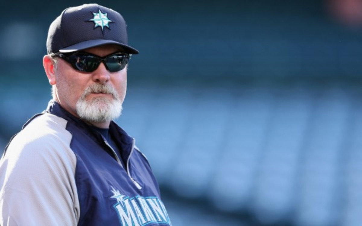 Seattle Mariners manager Eric Wedge will miss the team's road trip after having a mild stroke. (Jeff Gross/Getty Images)