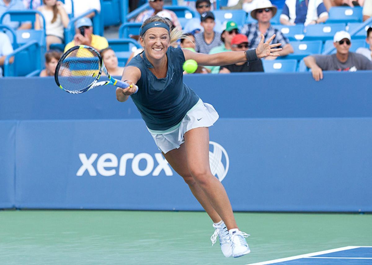 Attendance at women's matches continues to fall, even when Victoria Azarenka faces Serena Williams.