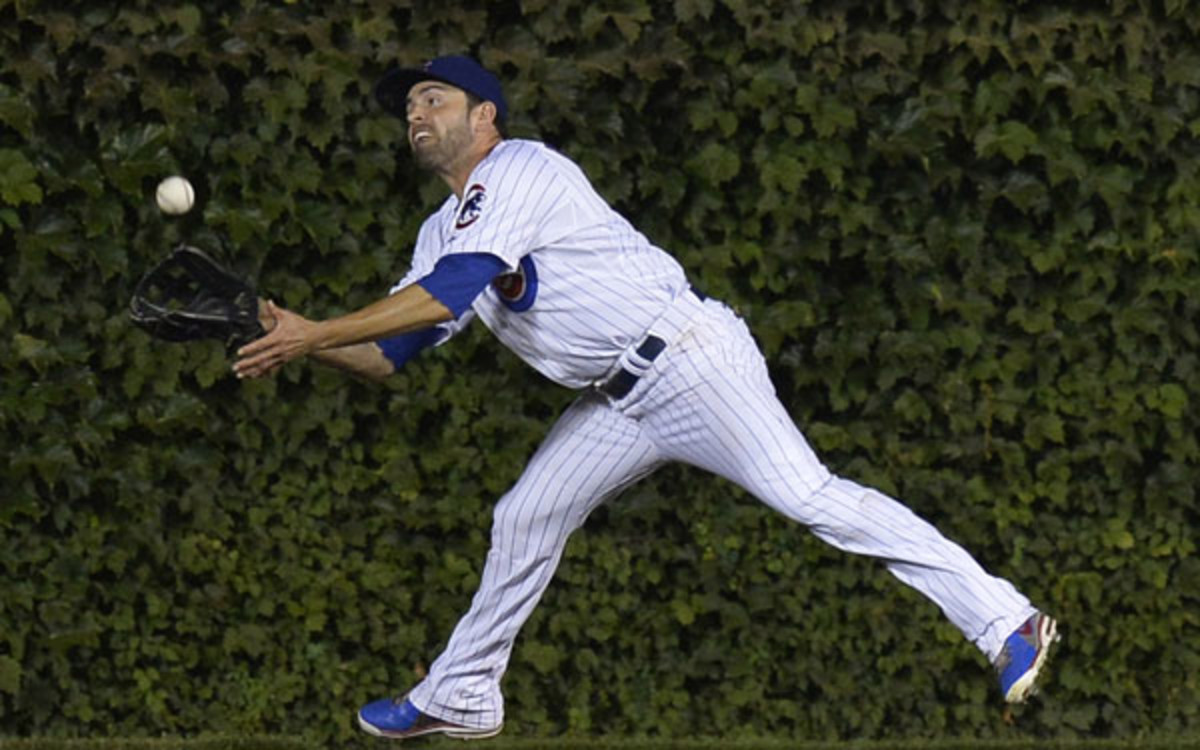 The Cubs traded David DeJesus to the Nationals. (Brian D. Kersey/Getty Images)