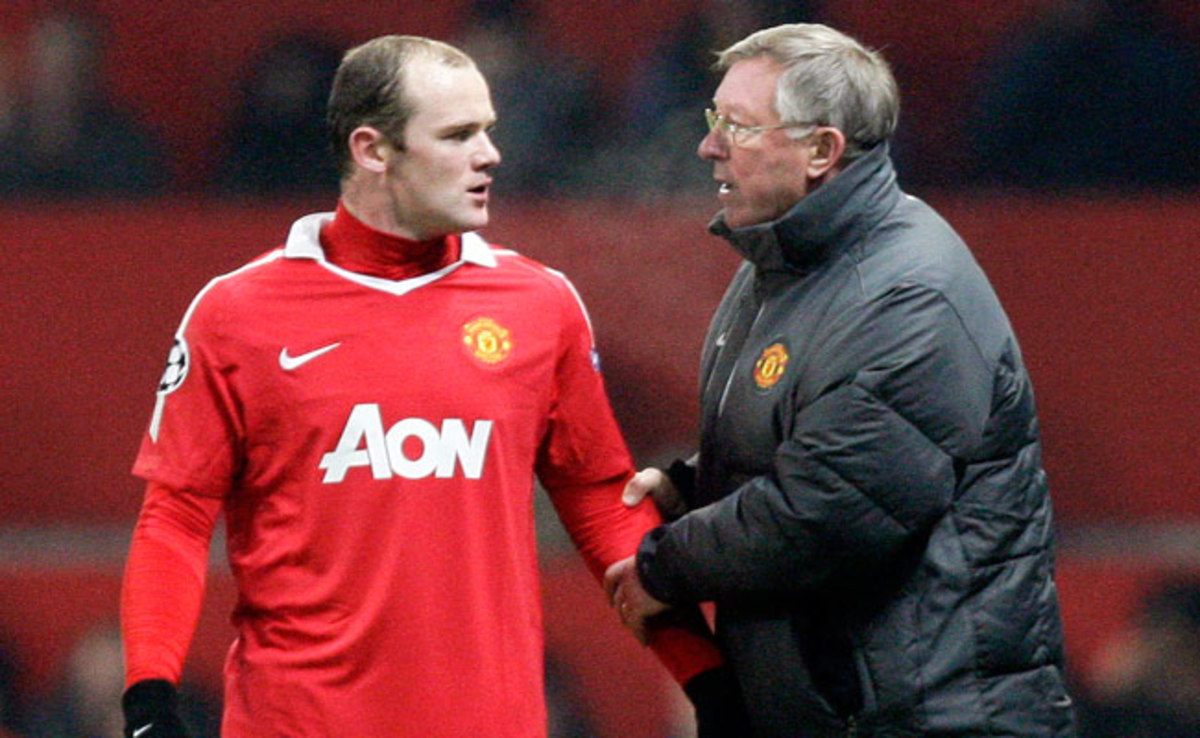 Wayne Rooney's testy relationship with now-retired manager Sir Alex Ferguson contributed to Rooney wanting to leave Manchester United in 2010.