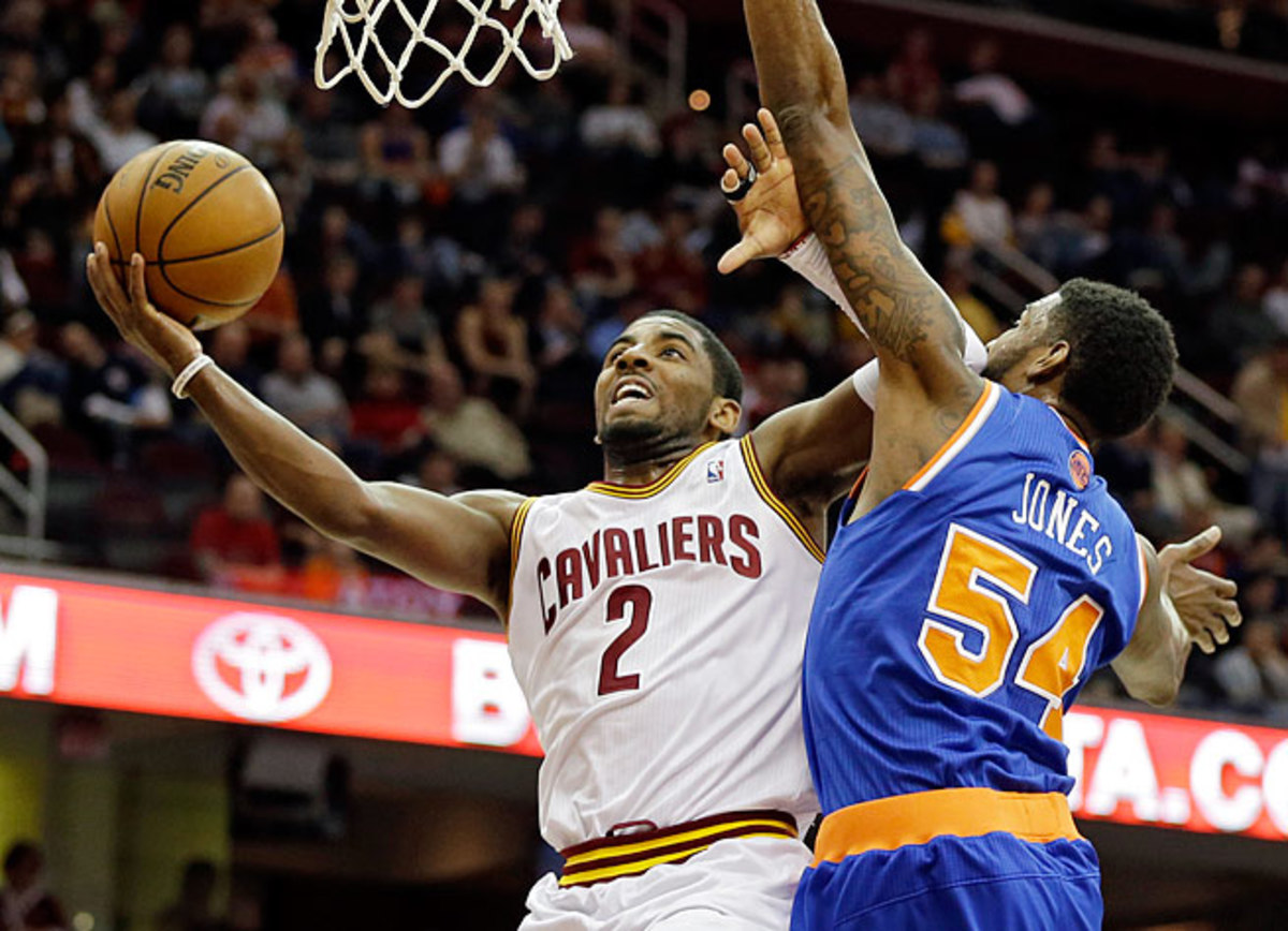 Point guard Kyrie Irving made the All-Star team last season as a 21-year-old in his second year.