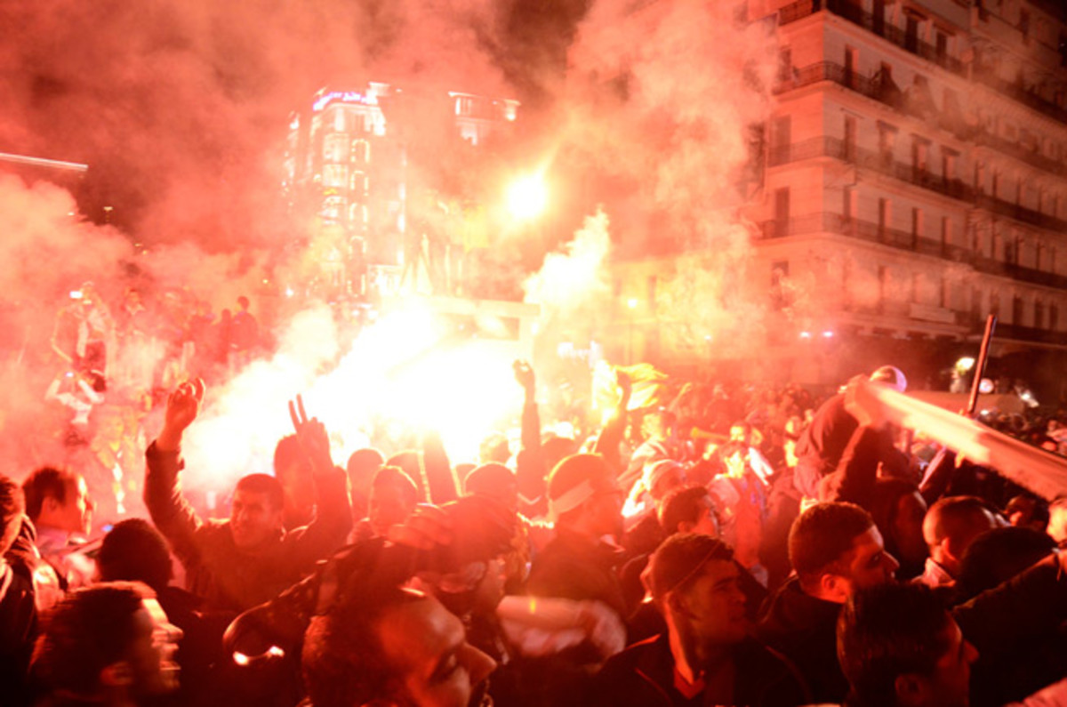 World Cup celebrations following Algeria's qualifying playoff triumph over Burkina Faso left 12 dead and 240 injured.