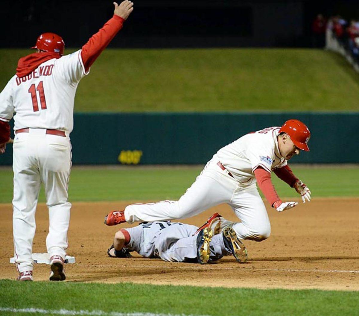 Cardinals 5, Red Sox 4