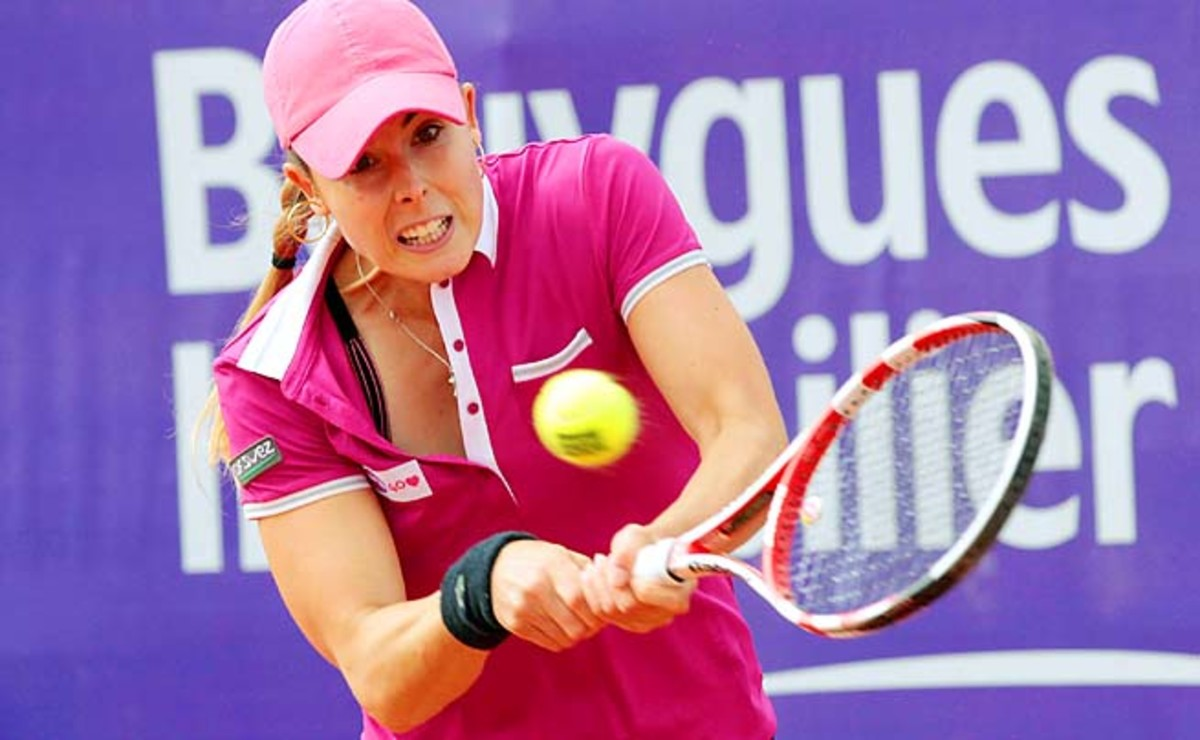 Alize Cornet has never made it past the third round of the French Open.