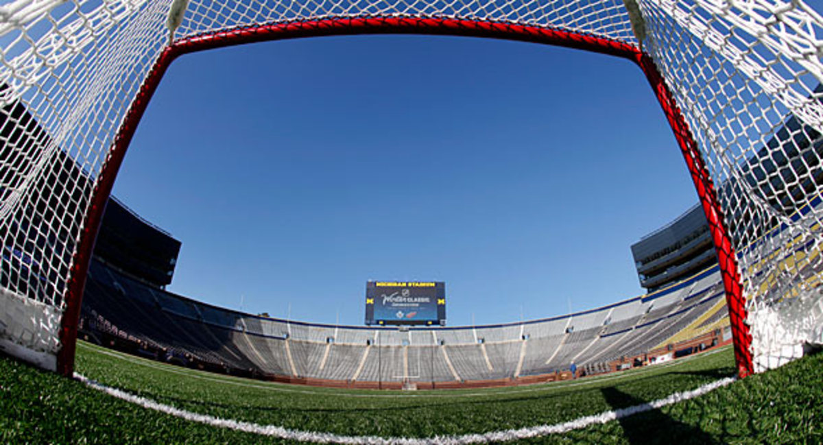 Michigan Stadium will be the site of the 2014 Winter Classic
