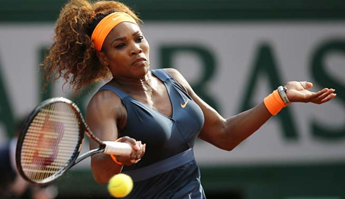 Serena Williams has lost one set in Paris, to Svetlana Kuznetsova in the quarterfinals.