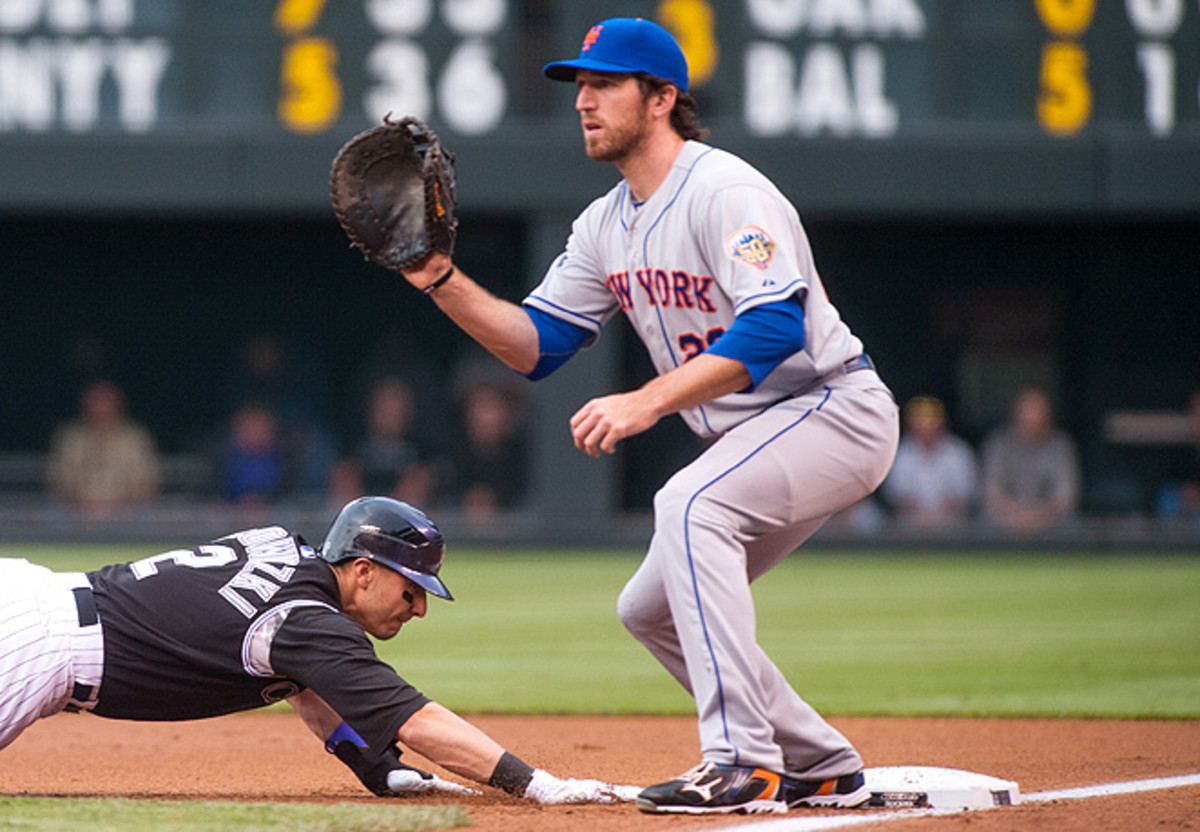 Last year Ike Davis' isolated slugging was higher than Albert Pujols', and it should improve in 2013.