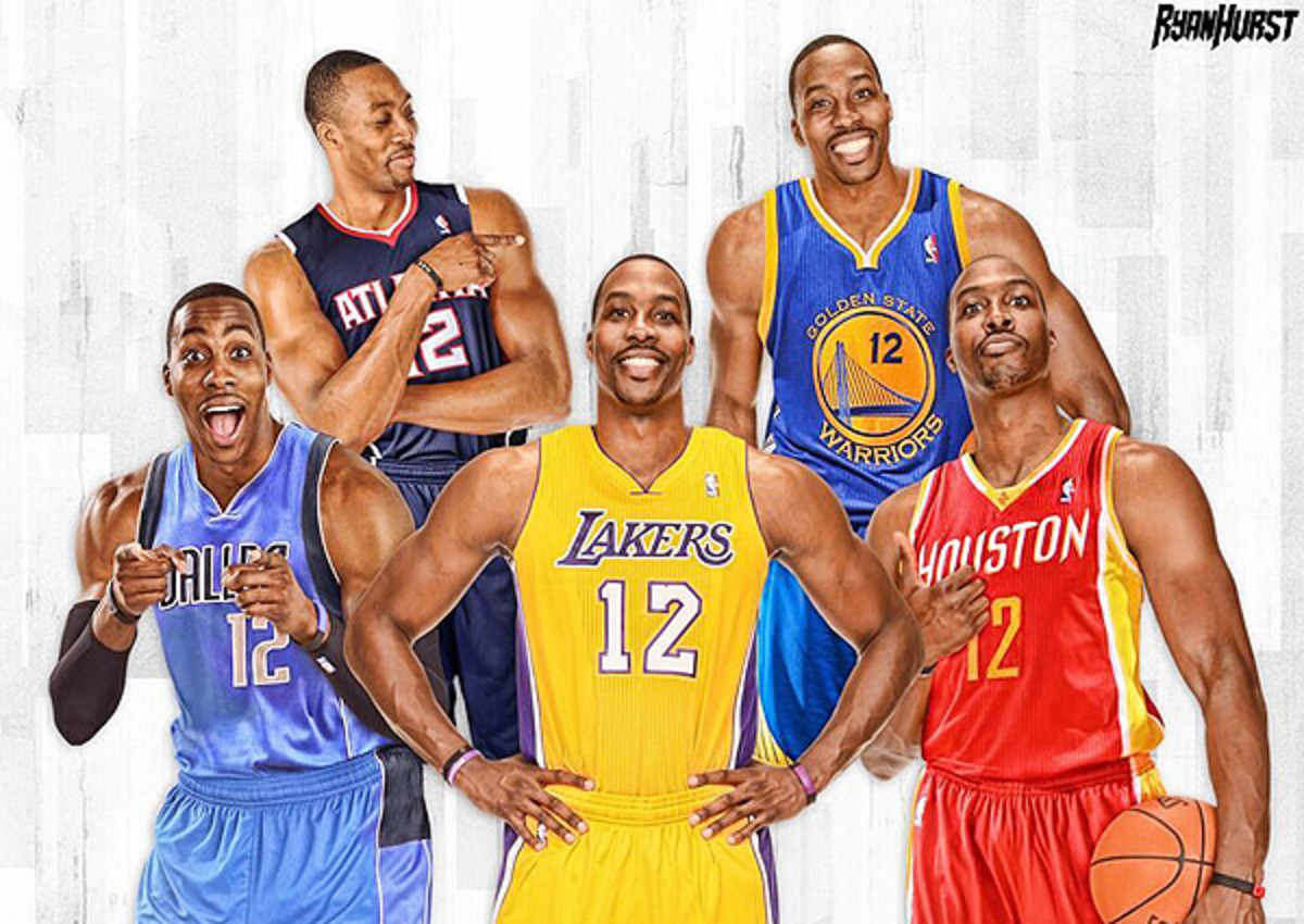 Dwight Howard is scheduled to meet with five teams this week as he explores his options in free agency.