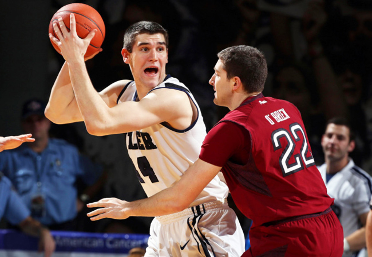 Butler center Andrew Smith is closing in on 1,000 career points.