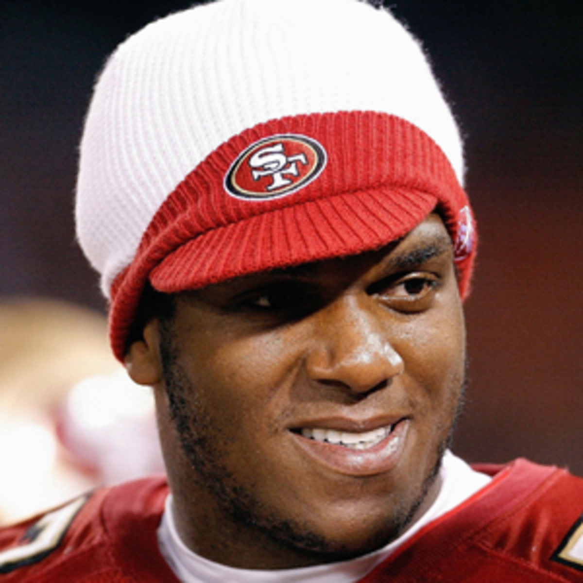 Kwame Harris played for the 49ers from 2003-2007. (Greg Trott/Getty Images)