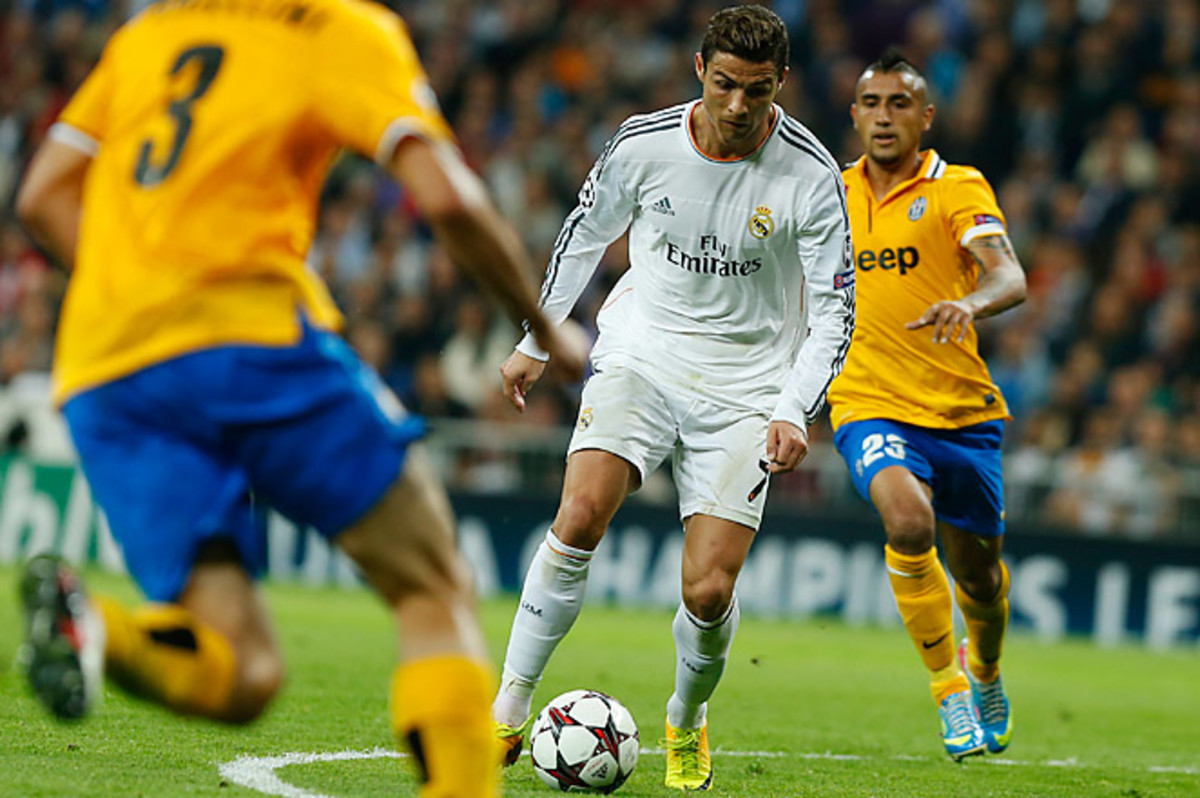 Cristiano Ronaldo scored both goals in Real Madrid's 2-1 win over Juventus on Wednesday.
