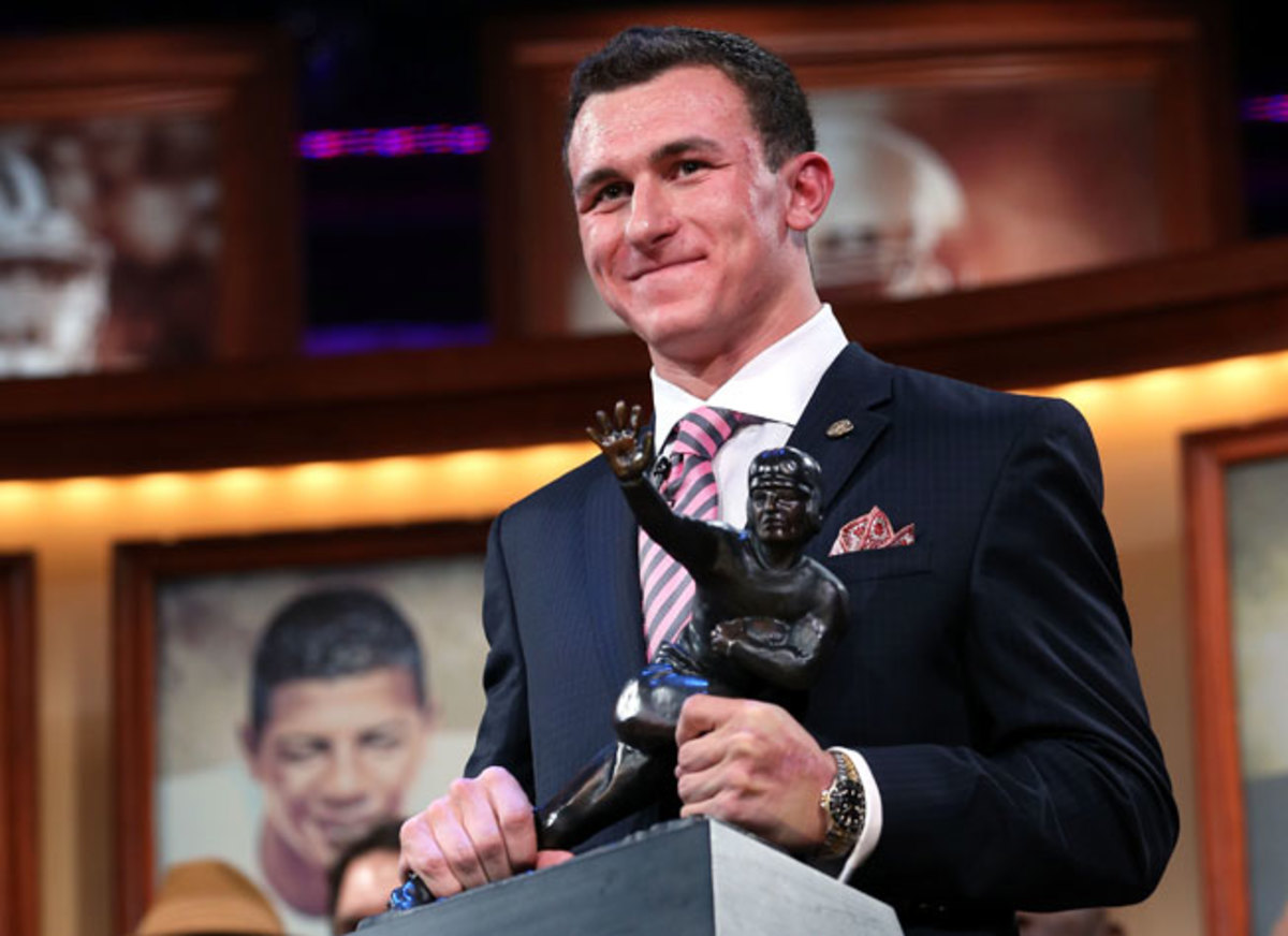 A relative unknown at the start of 2012, Johnny Manziel became the first freshman to win the Heisman.