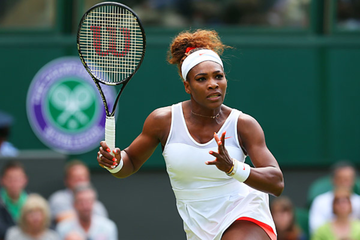 Will Serena be the next superstar to suffer an upset at Wimbledon? She faces  (Julian Finney/Getty Images)