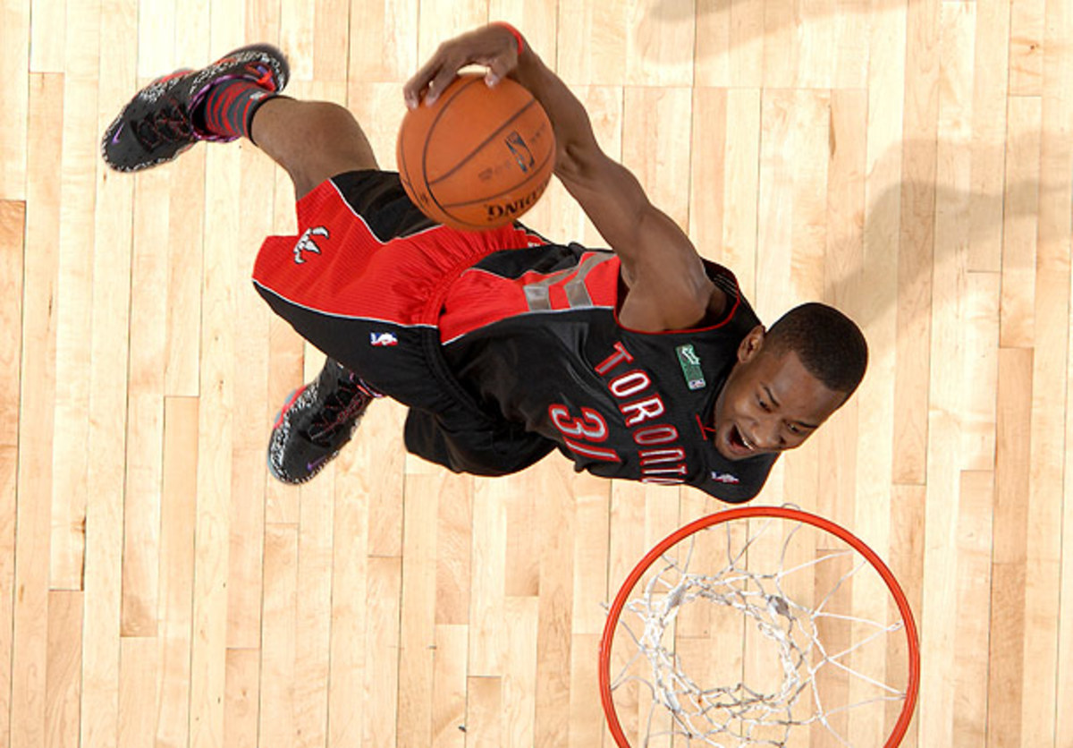 Terrence Ross won the 2013 Slam Dunk Contest