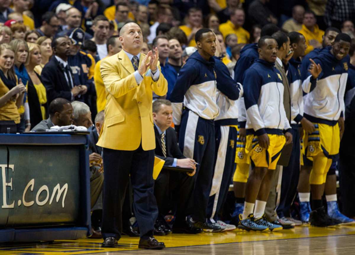 Marquette took a share of the regular-season Big East title in Buzz Williams' fifth year at the helm.