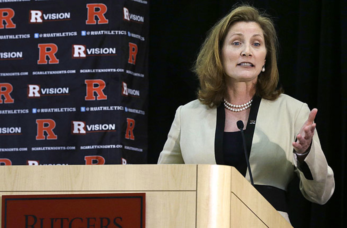 The Star-Ledger reports Rutgers' new athletic director may have abused players as Tennessee volleyball coach.