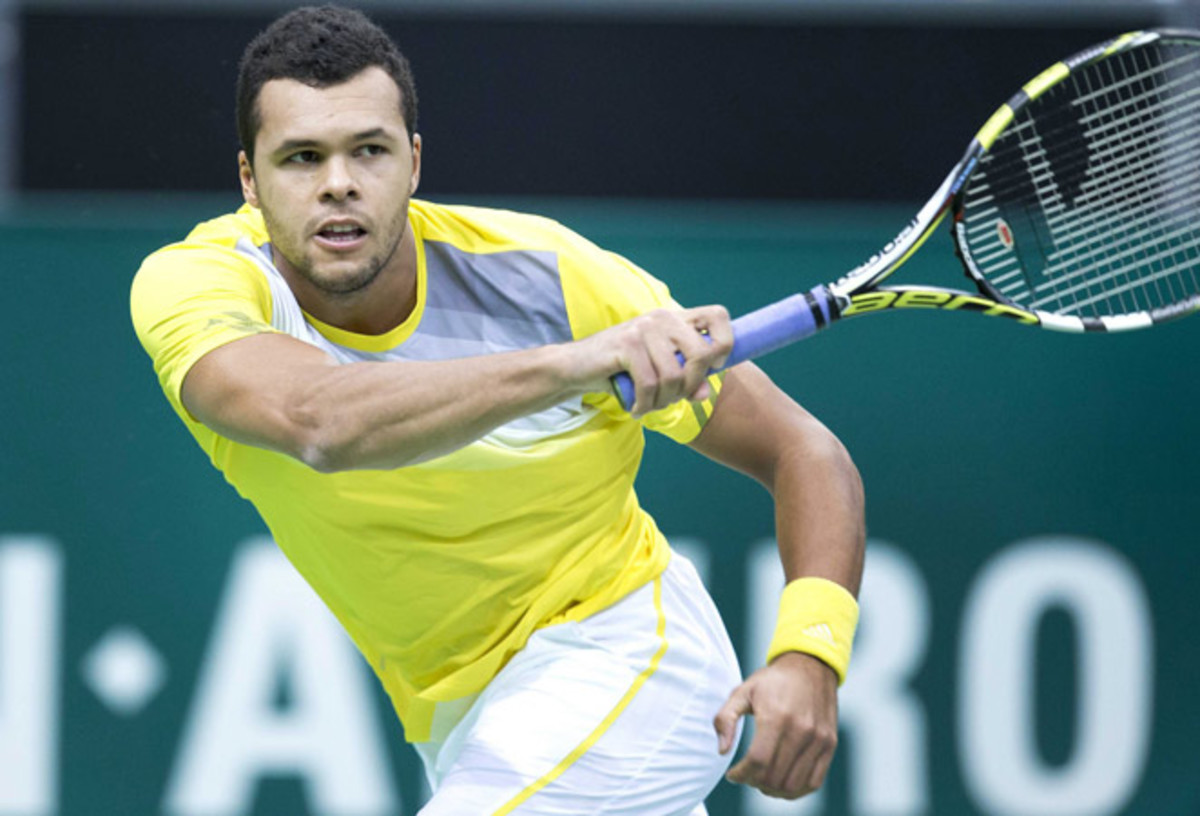 Jo-Wilfried Tsonga is the top-ranked Frenchman, just ahead of Richard Gasquet.