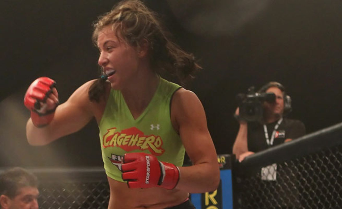 Miesha Tate is one of two women who will coach teams of UFC hopefuls on The Ultimate Fighter 18.