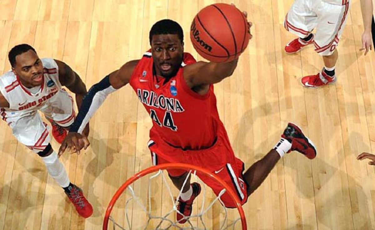 Solomon Hill averaged 13.4 points and 5.3 rebounds at Arizona last season.