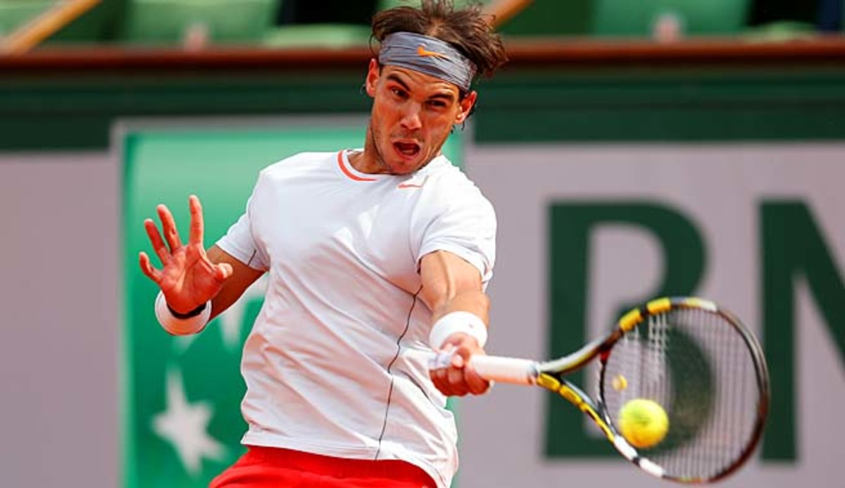 No. 3 Rafael Nadal moved one step closer to a potential semifinal with Novak Djokovic.