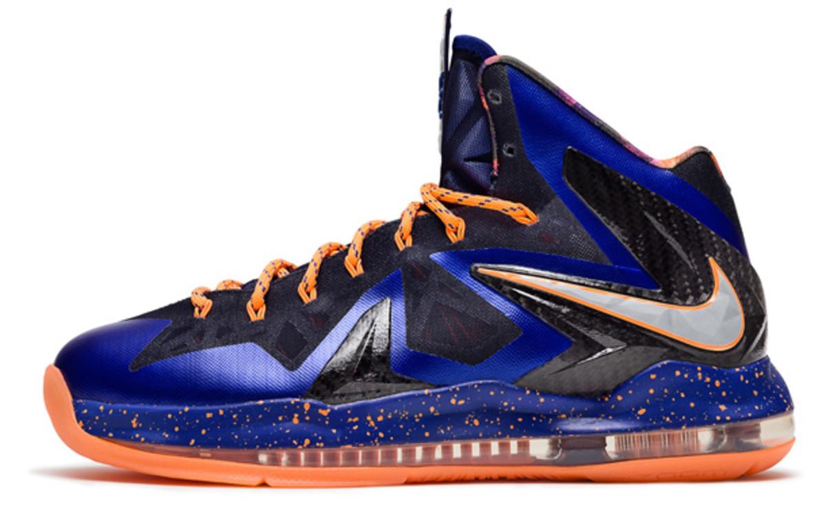 LeBron James superhero Nike sneakers