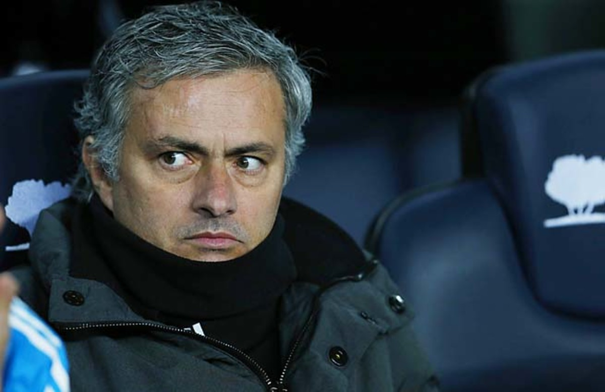 Jose Mourinho has been linked to a move to Chelsea after the season.