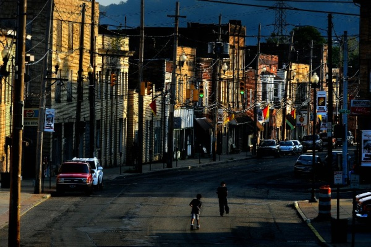 Steubenville is on the eastern edge of Ohio, about 10 miles west of Pittsburgh. (Michael S. Williamson/Getty Images)