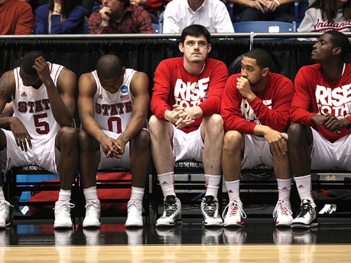 NC State struggled under the weight of lofty preseason expectations and finished a disappointing fourth in the ACC. (Terry Gilliam/MCT via Getty Images)