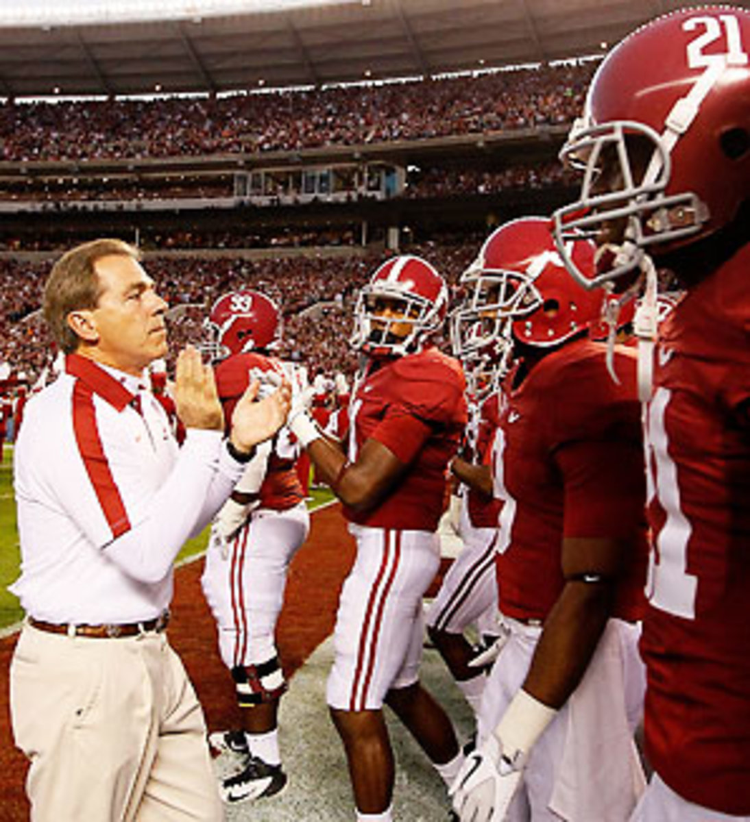 Nick Saban has led Alabama to two BCS titles in three years thanks to the Process, a culmination of all he's learned in the college and NFL ranks.