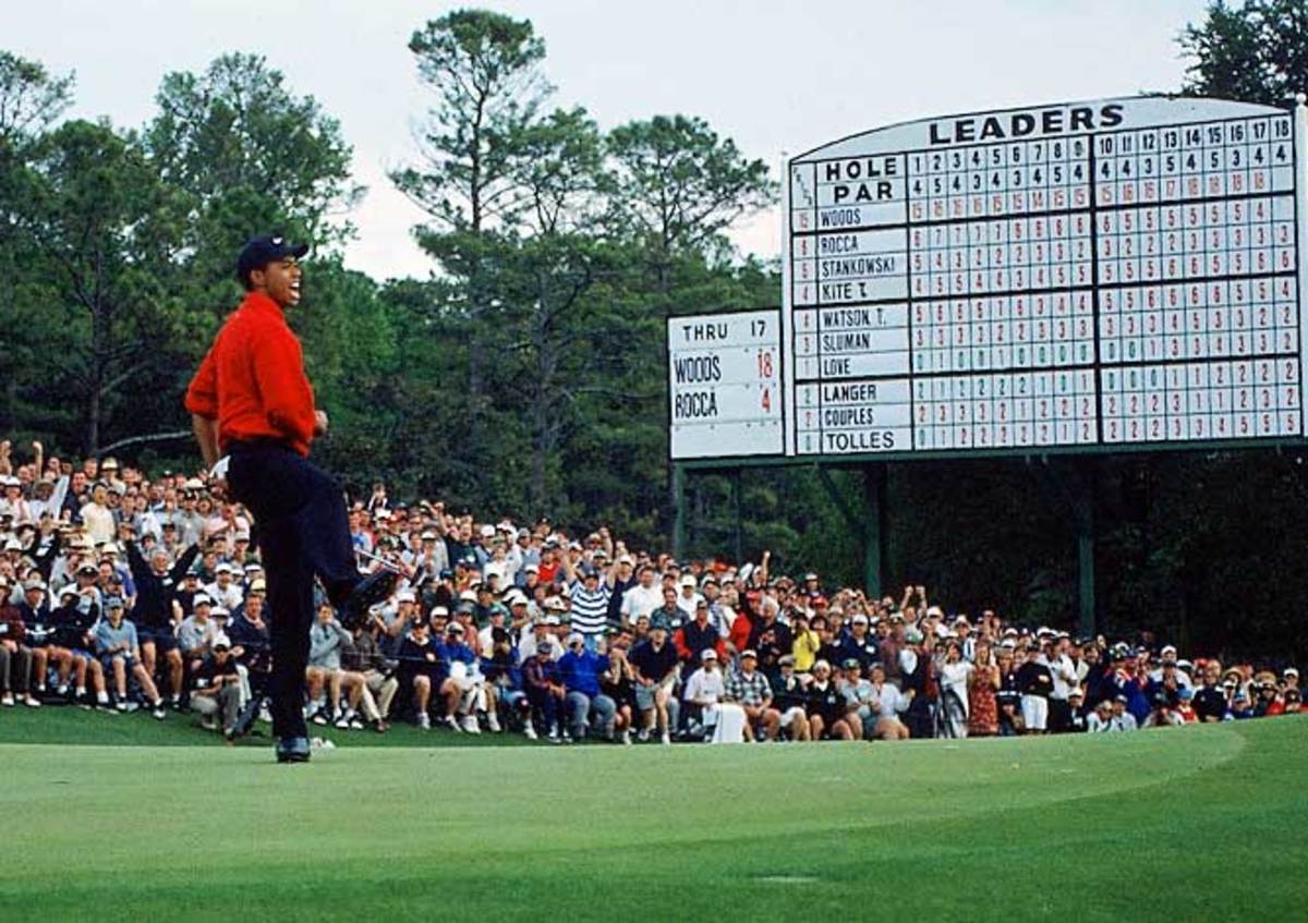 Tiger tames The Masters