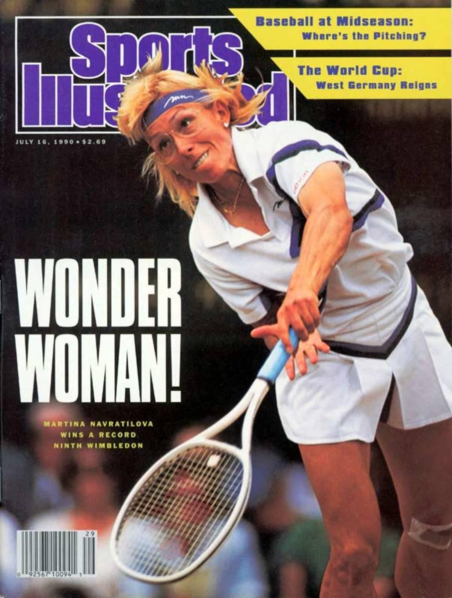Martina Navratilova passed Helen Wills Moody