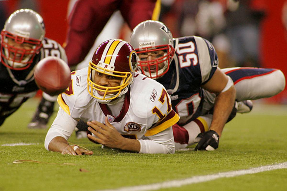 Patriots 52, Redskins 7