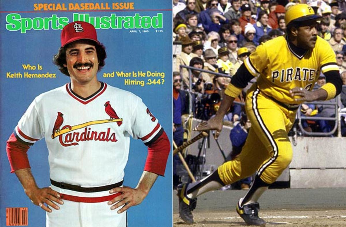 Keith Hernandez and Willie Stargell