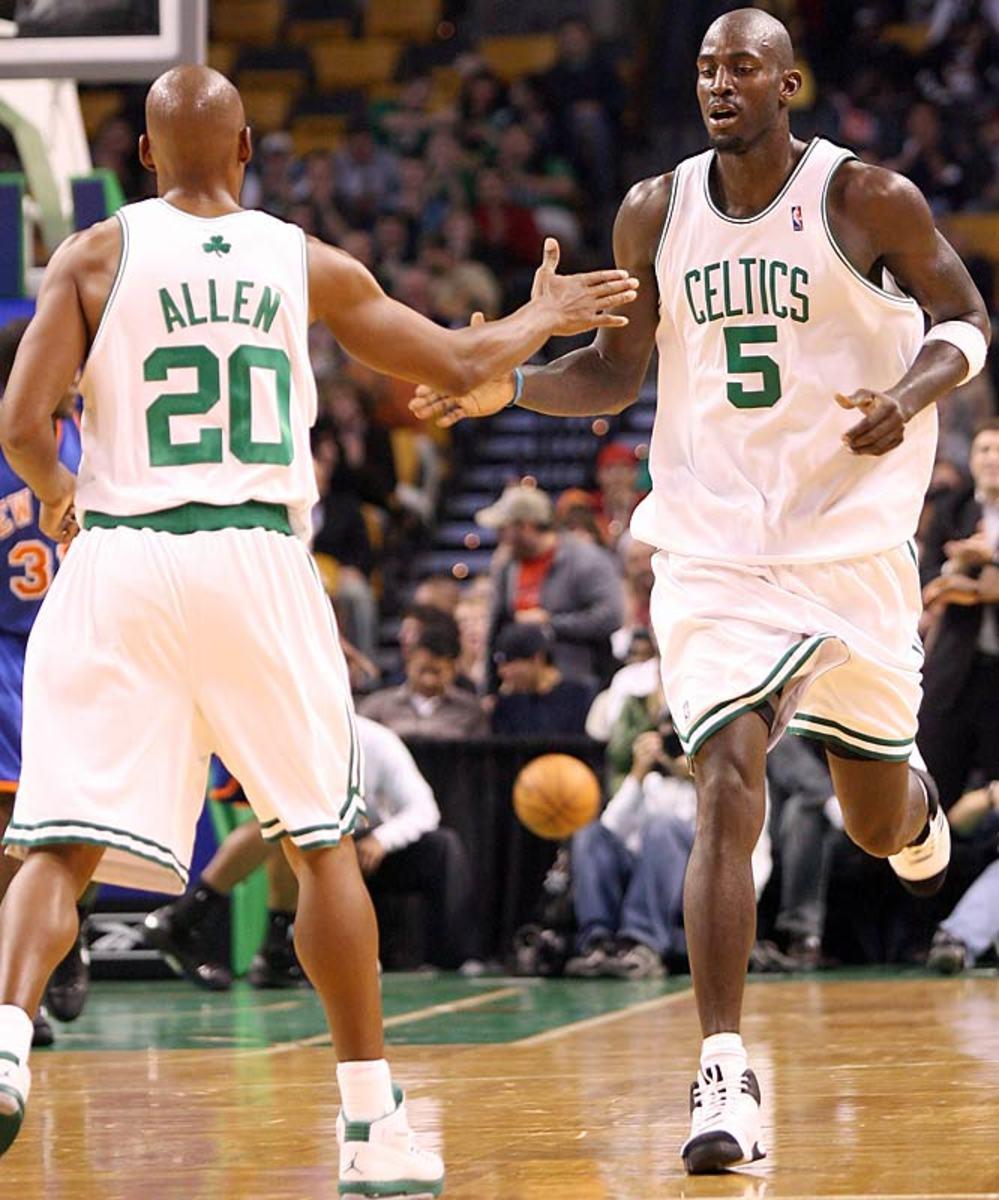 Kevin Garnett/Ray Allen to the Celtics